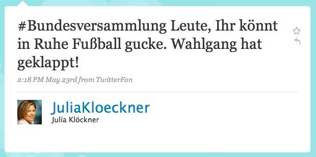 Klöckner_bundespräsident_twitter