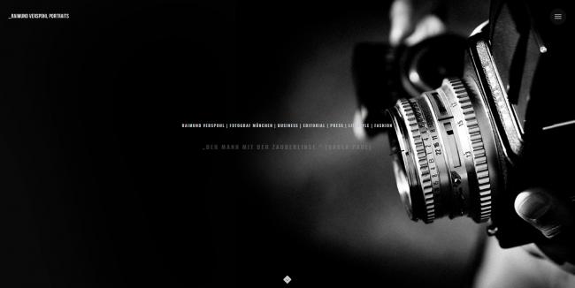 Social Media für Fotografen - Website Raimund Verspohl