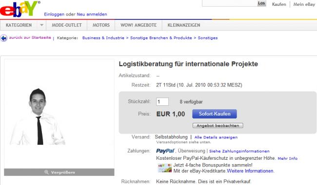 Ebay Logistikberatung