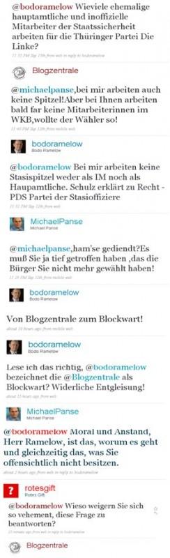 Politische Diskussion im Netz