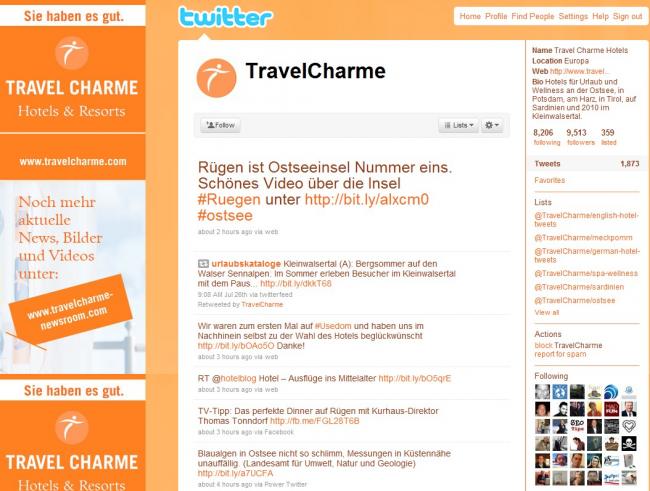 Twitter Travelcharme
