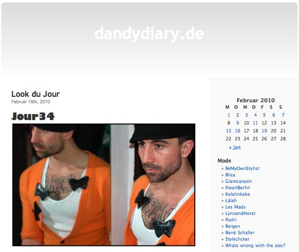 Dandydiary