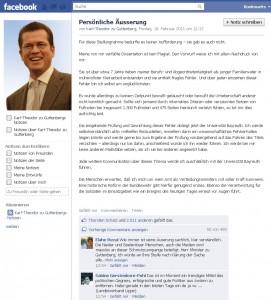 Guttenberg-Facebook
