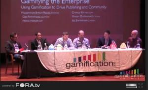 GSummit 2011 Panel Gamifying the Enterprise (Screenshot Livestream)