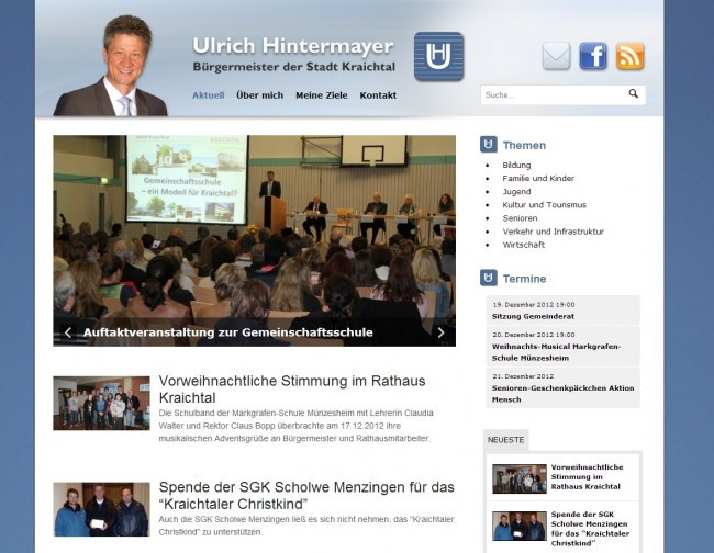 Ulrich Hintermayer Blog