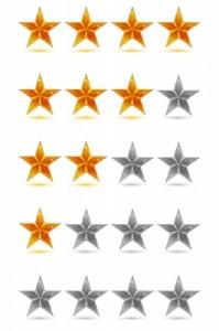 Bewertungen Sterne