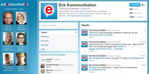 Twitter-Account Eck Kommunikation