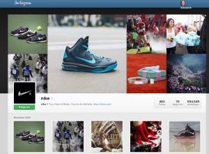 Nike auf Instagram
