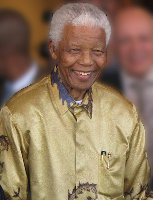 Nelson Mandela Foto von South Africa The Good News / www.sagoodnews.co.za