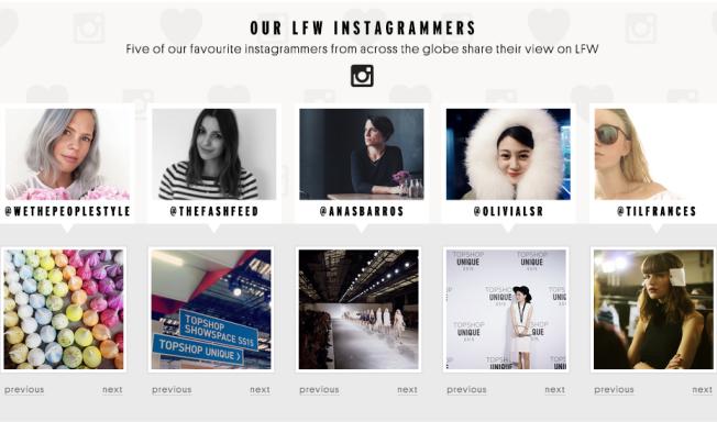 LFW_Instagram