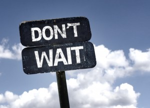 don'twait_start_schild_shutterstock_210444748