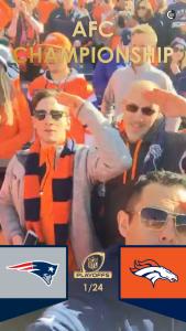 Live-Story vom NFL-Match Pats vs. Broncos