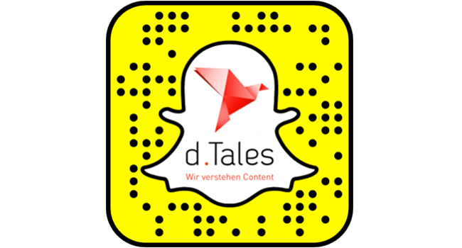 Folgen Sie uns bei Snapchat: d.Tales