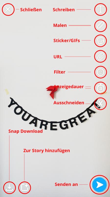Snapchat Tutorial Snapscreen