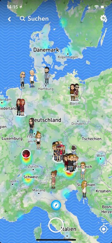 Snapchat Tutorial SnapMap