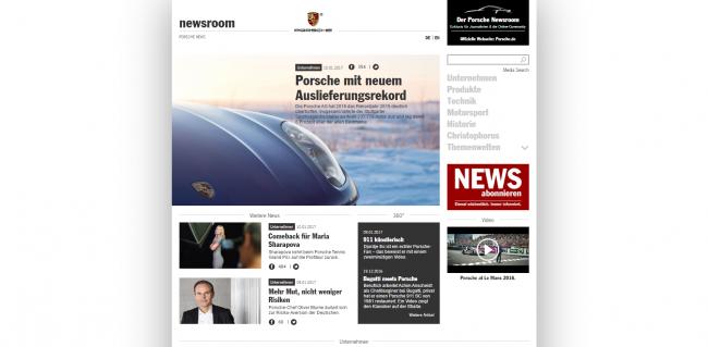 Ein Themenschwerpunkt im Porsche Newsroom: Motorsport