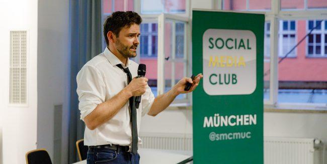 Thomas Schwenke beim SMCMUC
