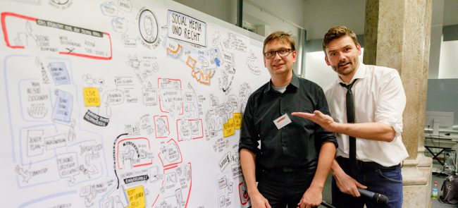 Graphic Recorder beim Social Media Club