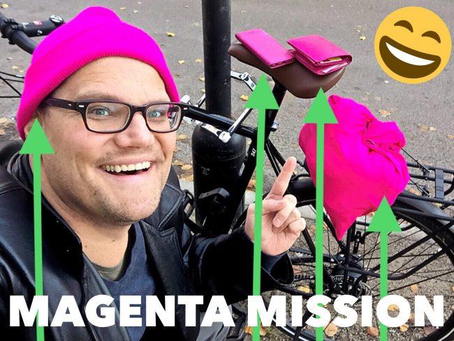Pawel Dillinger Magenta Mission