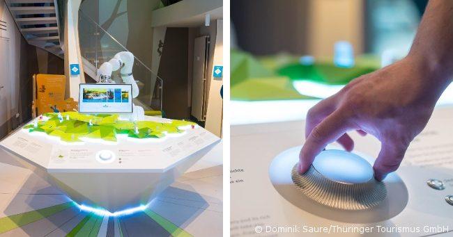 Kuka-Roboter im Digital Showroom der Thüringer Tourismus GmbH