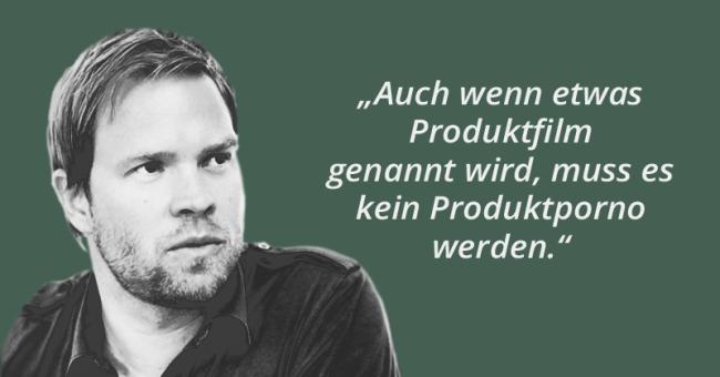 """""""Herr Maier, wir brauchen einen Imagefilm!"""" - Zitat Philipp Lenner"""