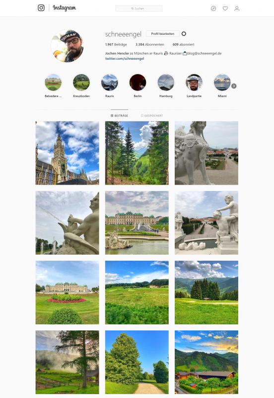 Instagram Account schneeengel