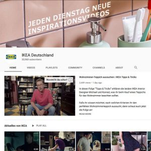 Ikea und Sas Coporate Influencer