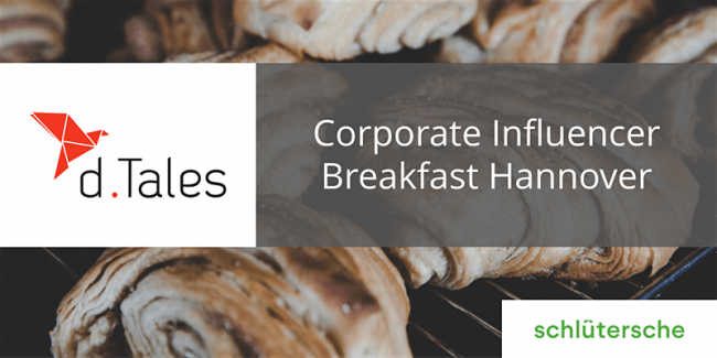 Corporate Influencer Breakfast hannover