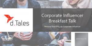Corporate Influencer Breakfast Talk Sascha Pallenberg
