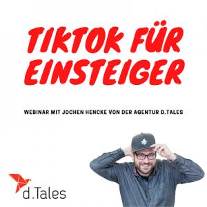 Tik Tok Webinar für Einsteiger