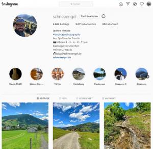 organisches Wachstum Instagram